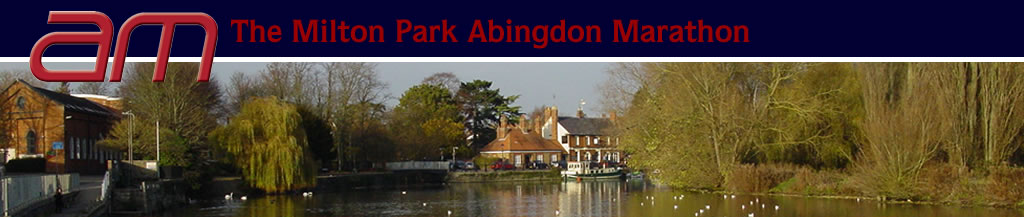 Abingdon Marathon Banner - photograph by Ridgedale Communications Ltd.