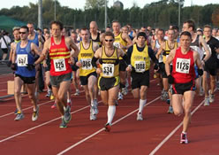 The start of the 2010 Abingdon Marathon. © SussexSportPhotography